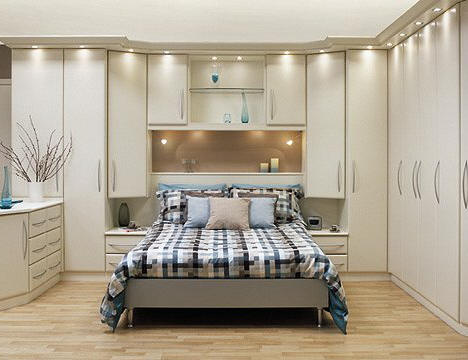 Furniture contemporary built in wardrobe armoire with - Contemporary maple bedroom furniture ...