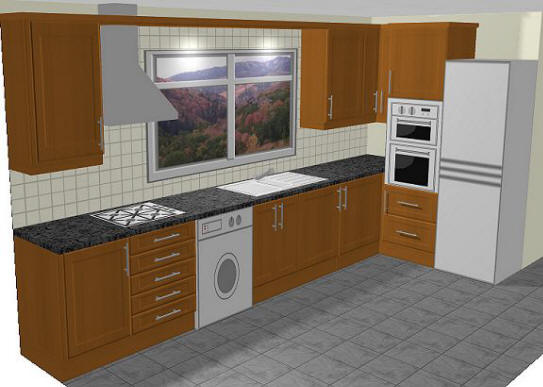Http Www Tfk Uk Com Kitchens Gallery Pages Layout Example2 Html